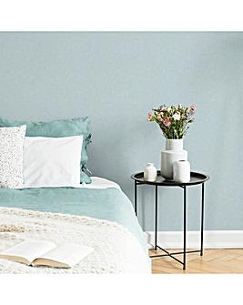 Superfresco Easy Paste the wall Aura Blue Textured Plain Wallpaper