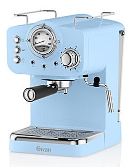 Swan Blue Espresso Coffee Machine