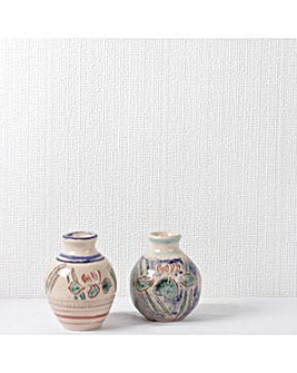 Superfresco White Paintable Linen