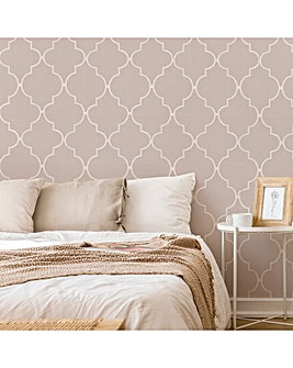 Taupe Spanish Tile W/Paper