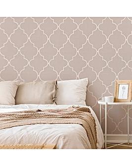 Superfresco Easy Taupe Spanish Tile Wallpaper