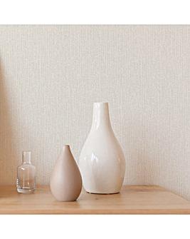Superfresco Matrix Textured Metallic Plain Neutral/Cream Wallpaper