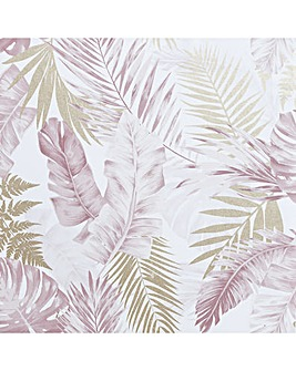 Artistick Soft Tropical Blush Wallpaper