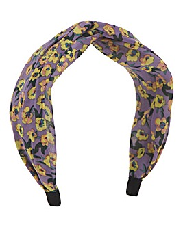 Floral Printed Headband