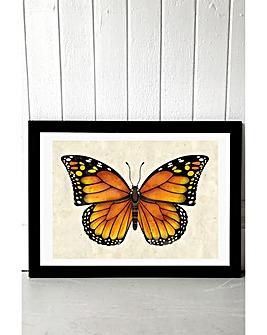 East End Prints Butterfly by Dieter Braun Art Print