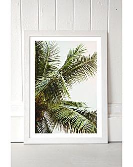 East End Prints Palms Above Me by Honeymoon Hotel Art Print