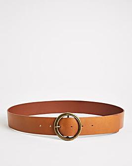 Thick Leather Waist Belt