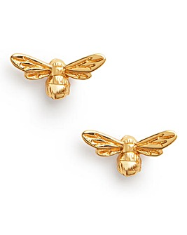 Olivia Burton Lucky Bee Gold Stud Earrings