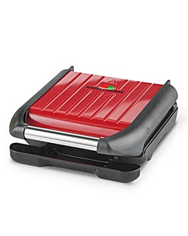 George Foreman 25030 3 Portion Red Compact Grill