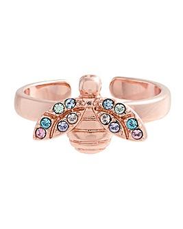 Olivia Burton Rainbow Bee Ring