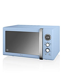 Swan SM22085BLN 25L Microwave - Blue