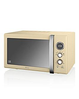 Swan SM22085CN 25L Microwave - Cream