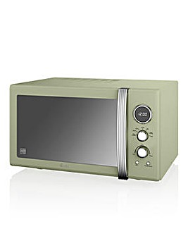 Swan SM22085GN 25L Microwave - Green
