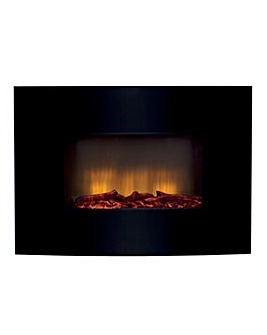 Beldray Palma Curved Wall Mounted Fire