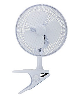 Signature 6 Inch Clip On Desk Fan