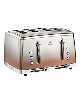 Russell Hobbs 25143 Eclipse Copper Sunset 4 Slice Toaster