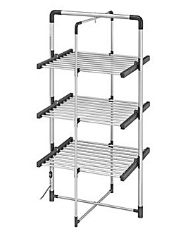 Black + Decker Space Saving Heated Clothes Airer