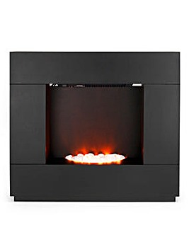 Beldray Sorrento Black Electric Fire Suite