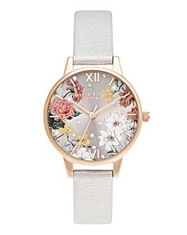 Olivia Burton Sparkle Floral Watch