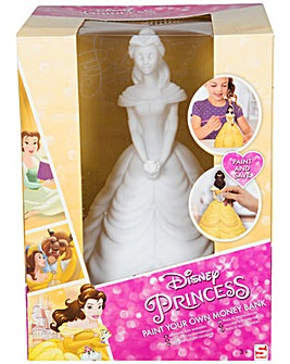 Disney Princess PYO Money Box - Belle