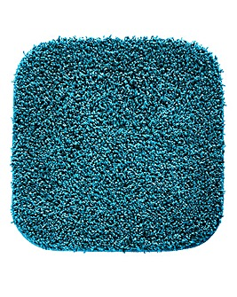 Shaggy Non-Slip Ultra Absorbent Square Bath Mat