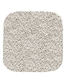 Shaggy Ultra Absorbent Square Bath Mat