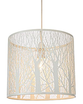 Fletcher NonElectric Metal Pendant Shade
