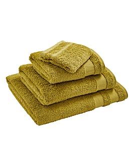 Egyptian Cotton Towel Range Apple Green
