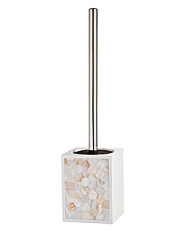 Pearl Toilet Brush & Holder