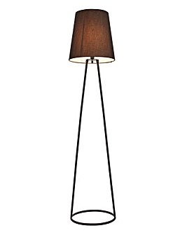 Black Wire Floor Lamp