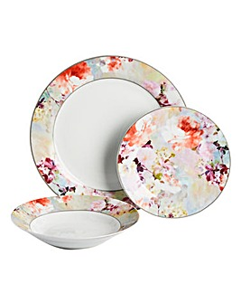 12pc Blossom Dinner Set