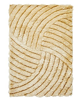 Dallas Carve Shaggy Rug Large
