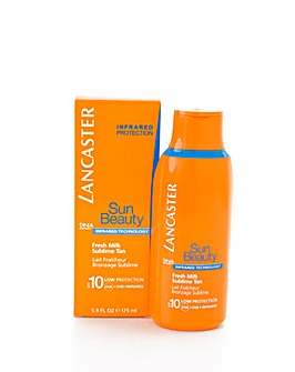 Sun Beauty Fresh Milk Sublime  Tan Spf10 175ml