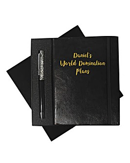 Personalised Notebook and Pen