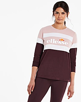 ellesse Tanaro Long Sleeve T-Shirt