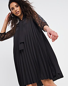 Joanna Hope Pleated Dress