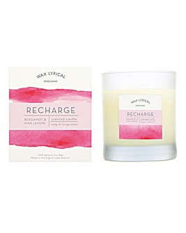 Wax Lyrical Recharge Glass Candle