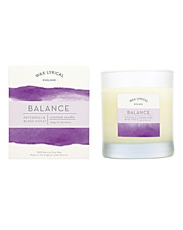 Wax Lyrical Balance Glass Candle