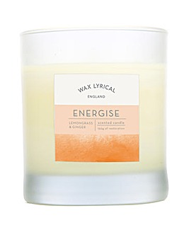 Wax Lyrical Energize Glass Candle