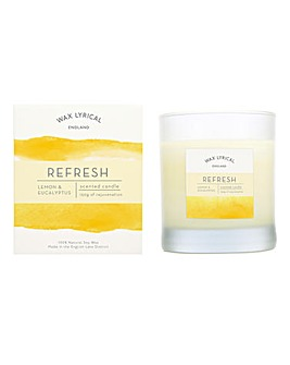 Wax Lyrical Refresh Glass Candle