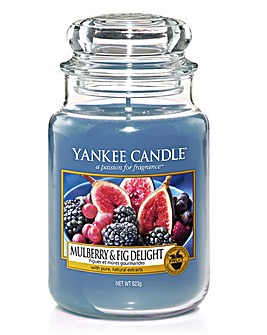 Yankee Candle Mulberry & Fig Delight Jar