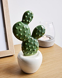 Ceramic Cactus Ornament