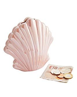 Iridescent Shell Money Bank