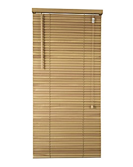 Wooden Venetian Natural Blind 25mm Slats