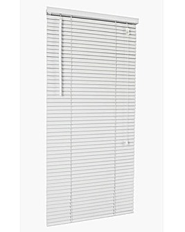 Wooden Venetian White Blind 25mm Slats