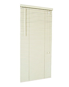 Wooden Venetian Cream Blind 25mm Slats