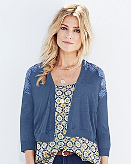 Edge-to-Edge Crochet Cardigan
