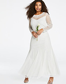 Joanna Hope Bridal Godet Maxi Dress