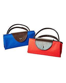 Set 2 Foldable Shopping Bags