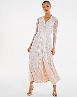 Joanna Hope Bridal Sequin Maxi Dress